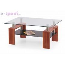 Konferenční stůl - DIANA MAX - Dub sodoma/ matné sklo Fann
