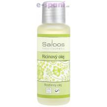 Ricinový olej lisovaný za studena 250ml Saloos