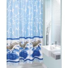 Koupelnový závěs 180x200 cm (delfíni) Veratex