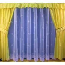 Záclona Hvězdička výška 160 cm (bílá)