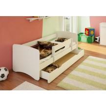 Dětská postel se šuplíkem Filip - bílý 160 x 90 NELLYS