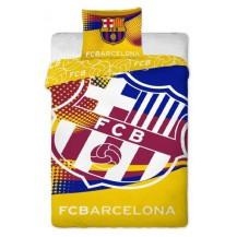 Bavlněné povlečení FC Barcelona yellow 70x90 - 140x200 Veratex