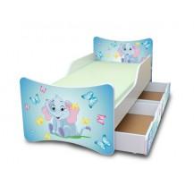 Dětská postel a šuplík/y Sloník