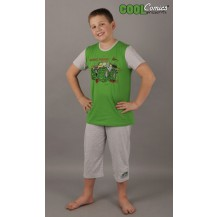Dětské pyžamo kapri Auto Truck
