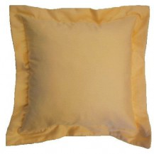 Saténový polštářek Traventina 40x40cm lososový