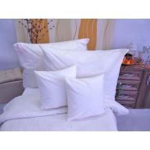 Bavlněné povlečení  prodloužené  70x90 + 140x220 cm (bílé)
