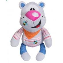 Edukační plyšová hračka s chrastítkem Baby Ono - Medvídek Baby ONO