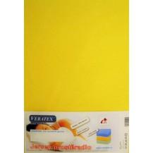 Jersey prostěradlo do kočárku 35x75 cm (citronové)