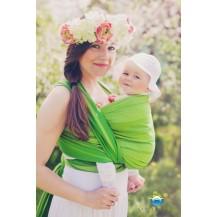Little FROG Tkaný šátek na nošení dětí - BERYL LITTLE FROG