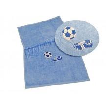Osuška fotbal 70x140 (10 sv.modrá) Veratex