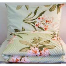 Bavlněný set: deka + polštář tisk (70x90 -140x200)  R511