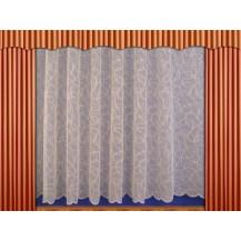 Záclona Vlnění výška 150 cm (kapučíno)