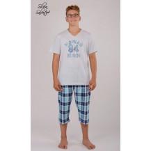 Pánské pyžamo kapri Hawaii