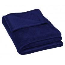 Micro deka jednolůžko 150x200cm tm.modrá 300g/m2