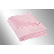 Micro deka jednolůžko 150x200cm růžová 300g/m2
