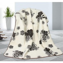 Vlněná deka 155x200cm Tomar 450g/m2 - Evropské merino Brotex