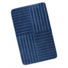 Koupelnová předložka 60x100cm Pruhy modré Brotex