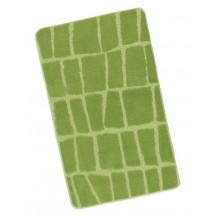 Koupelnová předložka 60x100cm Kostka zelená Brotex