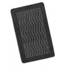 Koupelnová předložka 60x100cm Vlnky šedé Brotex