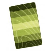 Koupelnová předložka Elli 60x100cm Vlna zelená Brotex