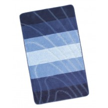 Koupelnová předložka Elli 60x100cm Vlna modrá Brotex