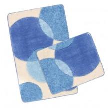 Koupelnová SADA ULTRA 60x100+60x50cm Bubliny modré Brotex