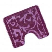 Předložka před WC 60x50cm Koberec fialový Brotex