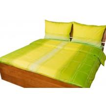 Povlečení bavlna 140x200, 70x90cm Hlubina zelená Brotex
