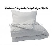 Souprava Klasik - deka 950g + polštář 1200g (140x200+70x90cm)