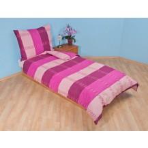 Přehoz přes postel dvojlůžkový Duha fialová Brotex