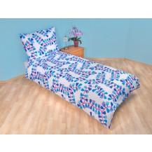 Přehoz přes postel jednolůžkový Mašle modré Brotex
