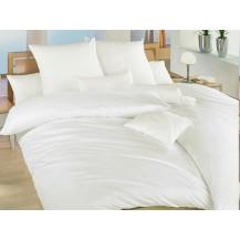 Povlak krep UNI 40x40cm Bílý, Výběr zapínání: hotelový uzávěr