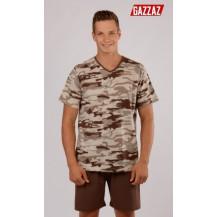 Pánské pyžamo šortky Army