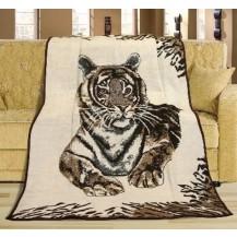 Deka Karmela jednolůžko 150x200cm tygr