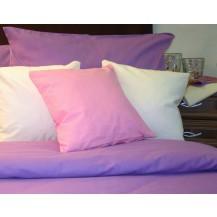Bavlněný povlak na polštář 70x90 cm fialkový