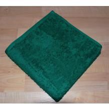 Froté ručník 50x100cm bez proužku 450g tmavě zelený