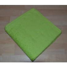 Froté ručník 50x100cm bez proužku 450g světle zelený
