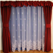 Záclona Liliana výška 250 cm (bílá)