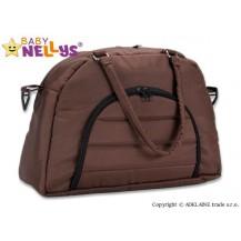 Taška na kočárek Baby Nellys ® ADELA LUX -hnědá Baby Nellys