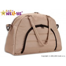 Taška na kočárek Baby Nellys ® ADELA LUX -béžová Baby Nellys