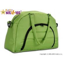 Taška na kočárek Baby Nellys ® ADELA LUX -zelená Baby Nellys
