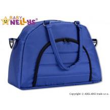 Taška na kočárek Baby Nellys ® ADELA LUX -granátová/tm.modrá Baby Nellys