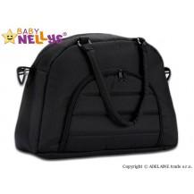 Taška na kočárek Baby Nellys ® ADELA LUX - černá Baby Nellys