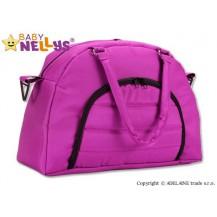 Taška na kočárek Baby Nellys ® ADELA LUX - amarantová Baby Nellys