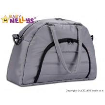Taška na kočárek Baby Nellys ® ADELA LUX - šedá Baby Nellys