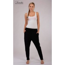 Dámské sportovní kalhoty Lenka - černá L Vienetta