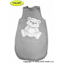 Spací vak Medvídek TEDDY - šedá vel. 0+