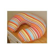 Kojící polštář - Proužek pomeranč