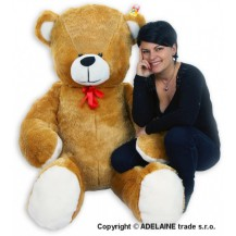 Plyšový Medvěd Baby Nellys - Sv. hnědý - 180cm Baby Nellys