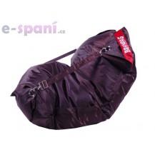 Sedací pytel 189x140 comfort s popruhy chocolate Beanbag